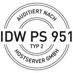 Hostserver GmbH IDW PS951 Typ2 autidiert